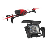 Parrot Bebop 2 Quadcopter Drone with Skycontroller - Ready-to-Fly - Red/Black