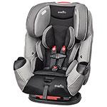 Evenflo Symphony LX Convertible 3-in-1 Car Seat - Black/ Grey