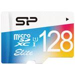 Silicon Power Elite 128GB 75MB/s microSDXC Class 10 UHS-1 Memory Card