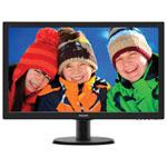 """Philips 23.6"""" FHD 5ms GTG LED Monitor (243V5LSB/27) - Black"""