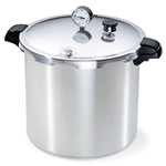 Presto Aluminum Pressure Canner 21.8 L Canning meat for food storage is one of the most important skills for preppers. Canned meat is surprisingly easy, tasty and safe. These aren't your grandmother's pressure canners.