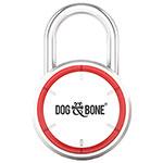 Dog & Bone LockSmart Bluetooth Padlock - Silver