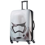 "American Tourister Star Wars Storm Trooper 21.5"" 4-Wheeled Expandable Carry-on Luggage - White/Black"