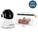 "Levana Mylo 5"" Touchscreen Video Baby Monitor w/ Zoom/Pan/Tilt & 2-Way Communication-Only at BestBuy"