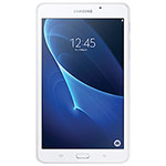 """Samsung Galaxy Tab A 7"""" 8GB Android 5.1 (Lollipop) Tablet with T-Shark 2A Quad-Core Processor - White"""