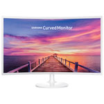 "Samsung 32"" 60Hz 4ms Curved PLS LED Monitor (LC32F391FWNXZA) - White"