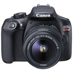 Canon EOS Rebel T6 DSLR Camera with EF-S 18-55mm f/3.5-5.6 DC III Lens Kit