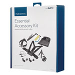 Insignia Essential 10 Piece Accessory Kit for GoPro HERO 1/HERO 2/HERO 3/HERO 3+/HERO 4/Hero 5 (NS-DGPK10-C)