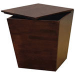 Mesa Storage Cube - Antique Walnut