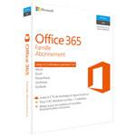 Microsoft Office 365 Famille (PC/Mac) - 5 utilisateurs - Abonnement de 1 an - Français