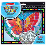 Melissa & Doug Stained Glass Made Easy: Butterfly
