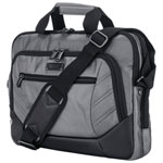"Kenneth Cole Castlerock 15.6"" Laptop Messenger Bag - Charcoal/Black"