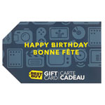 Best Buy Birthday Gift Card - $250