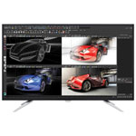 "Philips 43"" 4K UHD 60Hz 5ms GTG IPS LED Monitor (BDM4350UC) - Black/Silver"