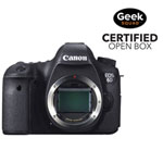 Canon EOS 6D DSLR Camera (Body Only) - Open Box