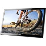 "AOC E1759FWU 17.3"" USB Portable LED LCD Monitor - 16:9 - 10ms - USB 3.0"