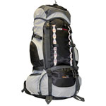 950170b974 ObusForme Elite 75L Travel Backpack - Black Grey