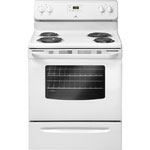 "White-Westinghouse 30"" 4.8 Cu. Ft. Freestanding Coil Top Electric Range (CWEF3007TW) - White"