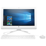 "HP 21.5"" All-in-One PC - White (Intel Pentium J3710 / 1TB HDD / 8GB RAM / Windows 10 Home)"