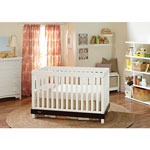 Graco Maddox 3-in-1 Convertible Crib - White/Espresso