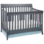 Stork Craft Avalon 4-in-1 Convertible Crib - Grey