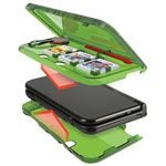 PDP Zelda Slim Storage Armor Case for 3DS XL - Green