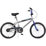 "Titan Tomcat 20"" BMX Bike - Silver/Blue/Black"
