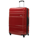 "Samsonite Caribbea Ltd 29.5"" Hard Side 4-Wheeled Luggage - Red"