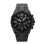 Casio 56.6mm Men's Analog Chronograph Watch - Black