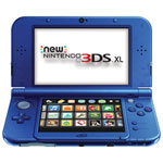 new Nintendo 3DS XL Galaxy Edition - Blue