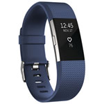 Fitbit Charge 2 Fitness Tracker - Large - Blue