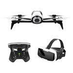 Parrot Bebop 2 Quadcopter Drone with Camera, FPV & Controller - Ready-to-Fly - Black/White