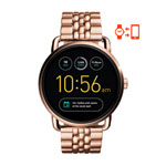 Fossil Q Wander Gen 2 Women's 45mm Stainless Steel Smartwatch - Rose Gold