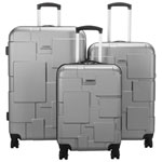 Samsonite Pinsky 3-Piece Hard Side Expandable Luggage Set - Silver