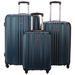 Swiss Gear Cypress 3-Piece Hard Side Luggage Set - Blue