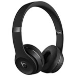 Beats by Dr. Dre Solo3 On-Ear Sound Isolating Bluetooth Headphones - Black