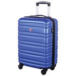 """Swiss Gear Wallen 2 20"""" Hard Side 4-Wheeled Carry-On Luggage - Blue"""