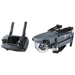 DJI MAVIC PRO Foldable Quadcopter Drone with 4K UHD Camera & Controller - Ready-to-Fly - Black