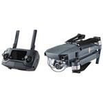 Hexacoptère repliable MAVIC PRO de DJI avec caméra UHD 4K et manette - Prêt à voler - Noir