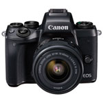 Canon EOS M5 Mirrorless Camera with EF-M 15-45mm f/3.5-6.3 IS STM Lens Kit