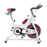 Soozier Pro Indoor Cycling Exercise Bike Fitness Cardio Workout Aerobic Machine with Water Bottle