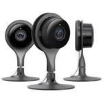 Nest Cam Wi-Fi Security Camera - 3 Pack - Black