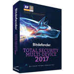 Bitdefender Total Security Multi-Device 2017 (PC/Mac) - 5 Devices - 1 Year
