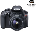 Canon EOS Rebel T6 DSLR Camera with EF-S 18-55mm f/3.5-5.6 DC III Lens Kit - Open Box