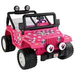 Power Wheels Minnie Mouse Jeep Wrangler (BBM95) - Pink
