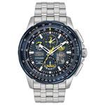 Citizen Skyhawk A-T Blue Angels 47mm Men's Analog/Digital Solar Powered Sport Watch - Silver/Blue