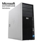 HP Z400 Workstation, Intel Xeon, 8GB RAM, 2TB HDD, DVD-RW, Windows 10 - Refurbished