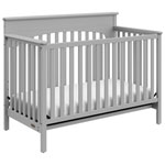 Graco Lauren 4-in-1 Convertible Crib-Pebble Grey