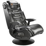 X-Rocker Pro Ergonomic Rocker Gaming Chair with Built-In Speaker - Black