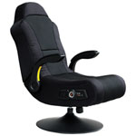 X-Rocker Commander Ergonomic Rocker Gaming Chair with Built-In Speaker - Black